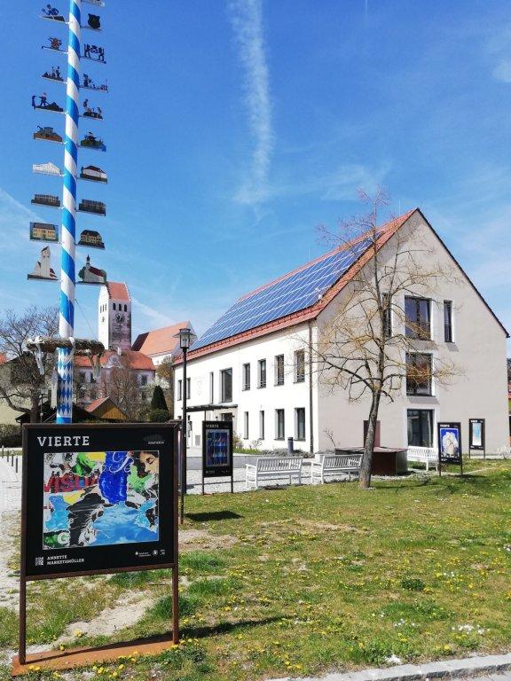 Abbau Ausstellung Vierte Rathaus